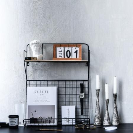 Today's The Day Desk Calendar (Oak)