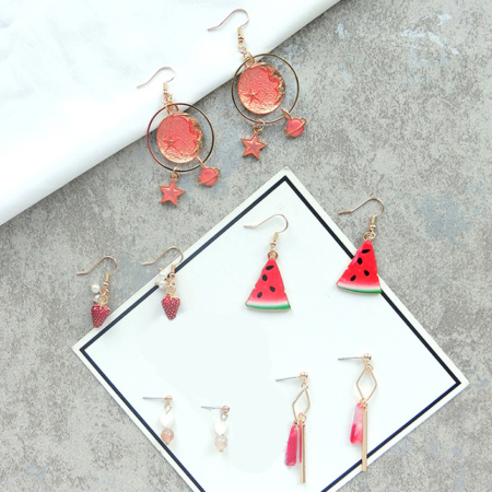 Shades of Fuchsia Earrings