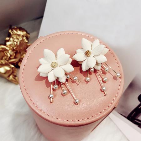 shell flower earrings