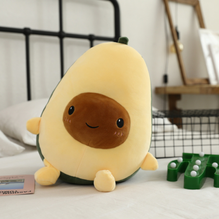 avocado soft toy for fruit pillow lovers