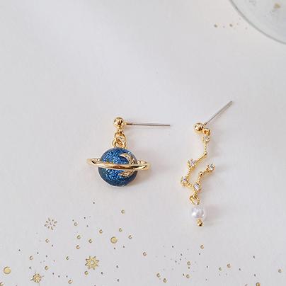 Orbit Earrings (Uneven Set)