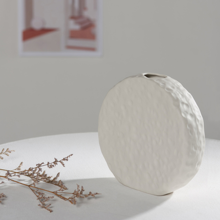 Full Moon Chalk Vase