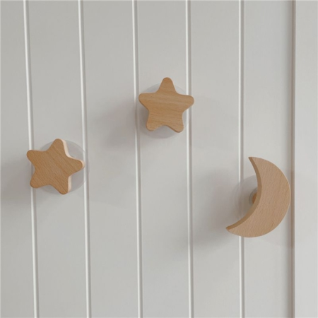 Night Sky Wooden Hooks