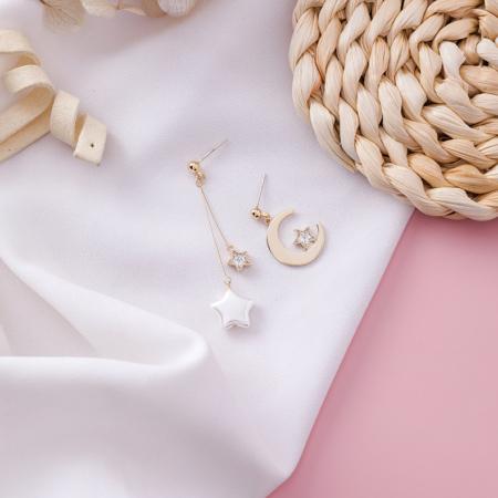 Stella Mismatched Earrings