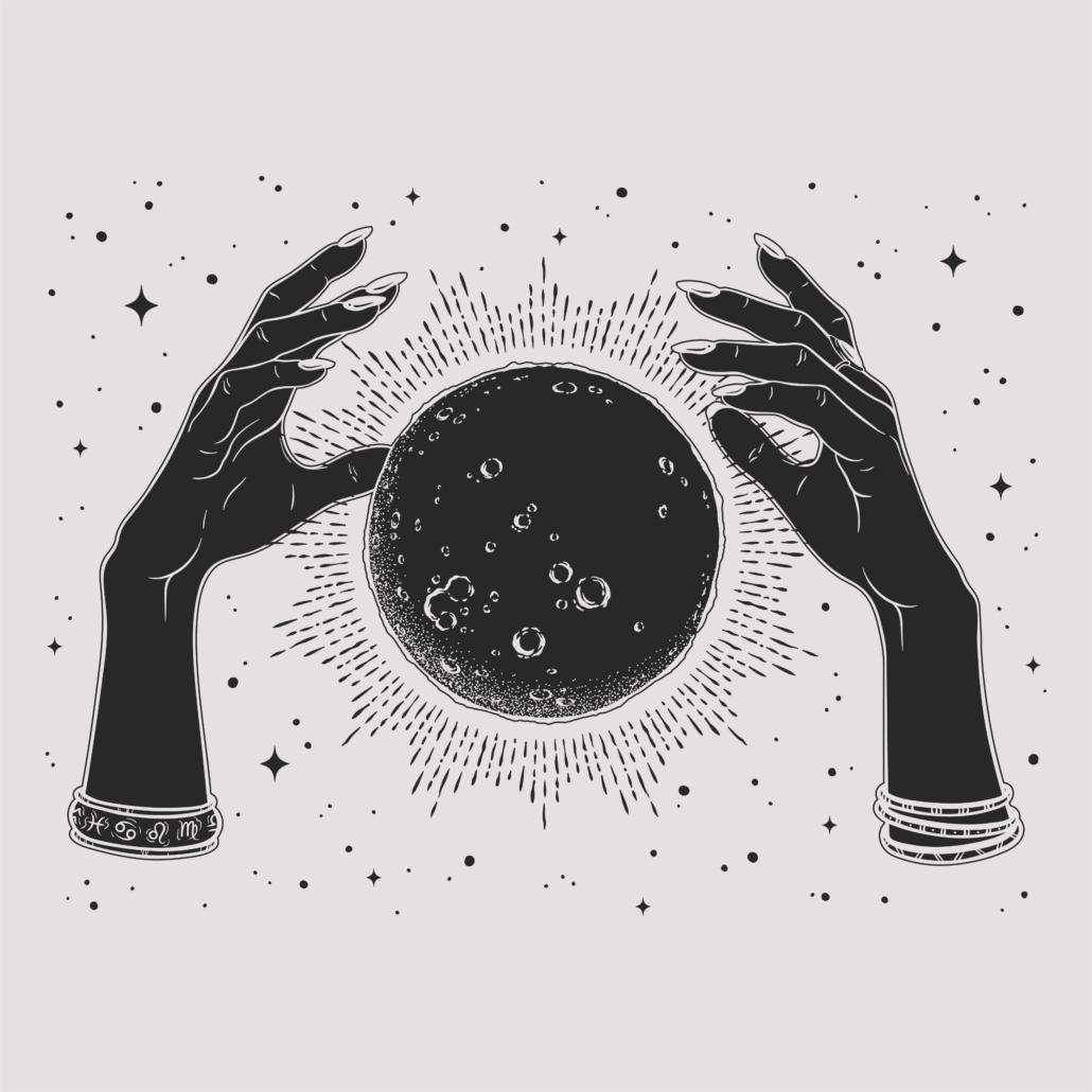 Moon Boho Design