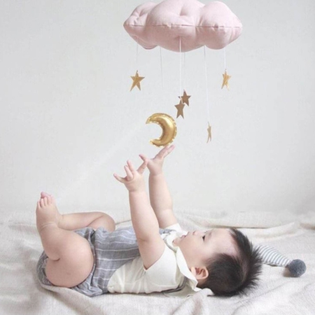Starry Dreams Baby Ceiling Mobile